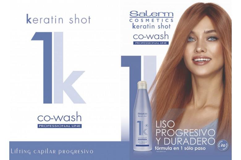 Keratin Shot Co-Wash Лифтинг волос всего в 1 шаг