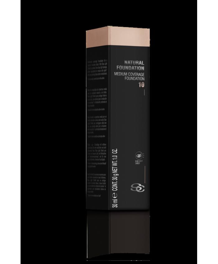NATURAL FOUNDATION Тональный крем среднего покрытия, 30 мл
