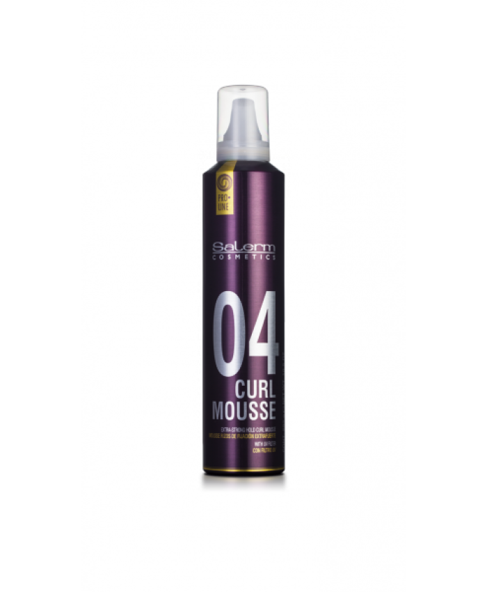 Curl Mousse Мусс-объем для укладки кудрявых волос, 300 мл