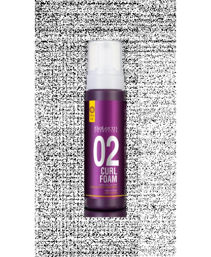 Curl Foam Пена для укладки кудрявых волос, 200 мл
