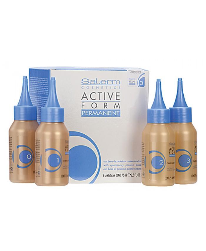 ACTIVE FROM Состав для химической завивки для нормальных волос, 75 мл